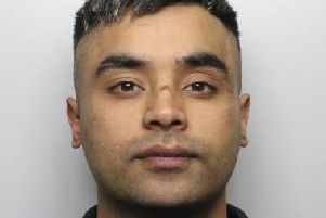 Hamza Ali Hussain, who has been jailed for eight years after leaving a soldier with debilitating injuries when he deliberately drove a car at speed towards a group of people outside a nightclub in Batley.