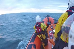 Blackpool RNLI were called out to rescue a paddleboarder
