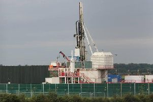 Cuadrilla's fracking equipment