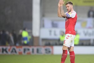 Ash Eastham will get married this summer, just like his Fleetwood Town manager Joey Barton
