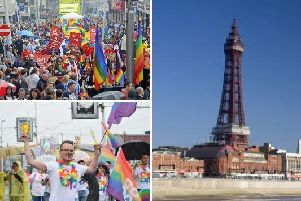 Blackpool Pride 2019 will take place from 8 to 9 June, with this years Pride set to be bigger than ever before