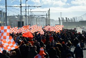 Blackpool fans are marching back in their droves to Bloomfield Road