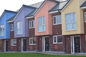 Homes already built at Foxhall Village