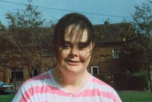 Jackie Maguire, who died at Blackpool Vic from a gastric ulcer and infection of the stomach lining in February 2017. Picture, by mother Muriel Maguire, shows Jackie in her younger days.
