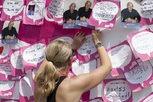 Sign up to Scarborough's Race for Life.