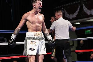 Dan 'Dangerous' Catlin returns to the ring later this month