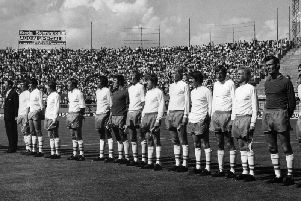 Blackpool took on Bologna in the 1971 Anglo-Italian cup final