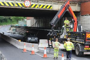 Devonshire Road saw major disruption last year when work was carried out on the railway bridge