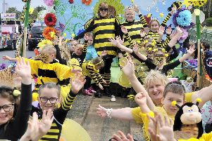 Shakespeare Primary School created a Buzz at Fleetwood Carnival