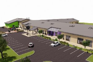 An artist's impression of the new Overdale School.
