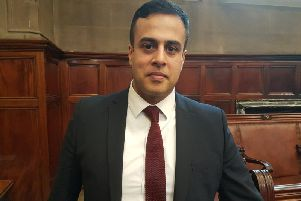 Wakefield's Conservative group leader, Nadeem Ahmed
