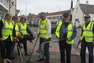 Combined with the town council's new street cleaning equipment, the group is run by volunteers who wish to keep the town free of all litter.
