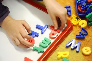 The number of children accessing Sure Start centres in North Yorkshire has fallen by 17%, according to a leading children's charity.