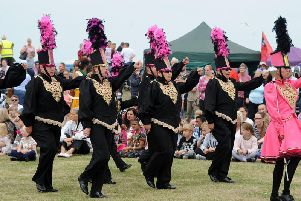 The Silver Band open the show on Waterloo Headland in last year's Blackpool Carnival