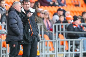 Terry McPhillips worked with Gary Bowyer at Blackpool