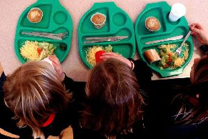Since 2018, the proportion of pupils claiming the meals in the East Riding of Yorkshire has risen by 1.6 percentage points. Photo: PA Images.
