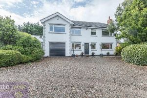 This four-bedroom individually-designed detached house in Blackpool is for sale for 350,000