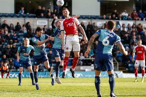 Ash Eastham is one of only two senior centre-halves on Fleetwood's books