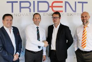 Trident Utilities has teamed up with Blackpool FC