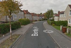 Officers were called to Bentley Road, Wakefield to reports of gun shots. (Google Maps)