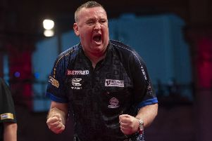 Glen Durrant won on Sunday night      Picture: Lawrence Lustig/PDC