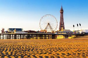 The weather in Blackpool is set to be bright on Monday 22 July, with sunshine and warm temperatures as a heatwave hits the UK.