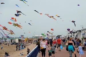 Crowds at last year's St Annes Kite Festival