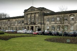 Waiting for a buyer - Crescent Gardens, the former headquarters of Harrogate Borough Council.