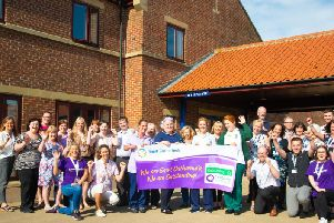 Saint Catherine's hospice has been rated 'Outstanding' in a recent CQC inspection.