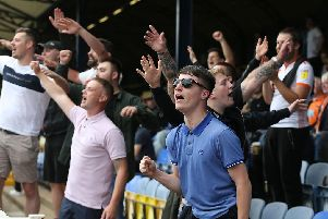 Were you one of the 480 Blackpool fans at Roots Hall yesterday?