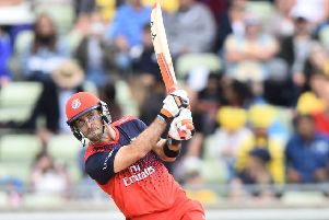 Lancashire Lightning's Glenn Maxwell     Picture: Getty Images