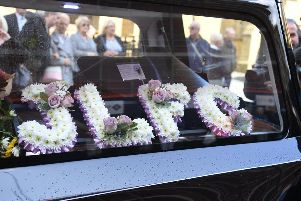 Joe Longthorne's funeral
