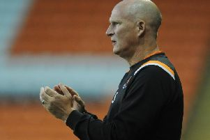 Grayson remained pleased with his players despite Blackpool's Carabao Cup exit