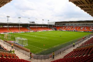 The assault happened outside Bloomfield Road stadium.