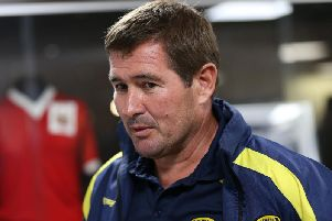 Burton Albion managerNigel Clough says he decided against signing Leeds United defender as he wanted something different in his squad.