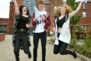 A level results are being announced around the country.