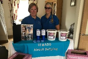 Tracy Coxey, secretary of MADD, with MADD events coordinator, Michelle Atherton