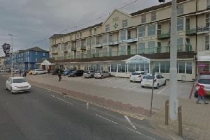 The man, in his 30s, was knocked over outside St Chads Hotel on the corner of the Prom and Woodfield Road at around 2.15am on Thursday, police said (Picture: Google Maps)