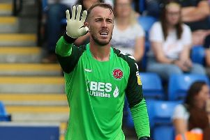 Fleetwood Town keeper Alex Cairns