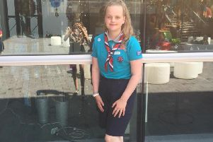 Emma Pearson earned herself the trip of a lifetime at the World Scout Jamboree.'Credit: Amy Pearson