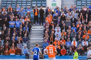 308 Blackpool fans made the 560-mile round trip to Gillingham on Tuesday