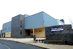 Sun Lane Leisure Centre in Wakefield.