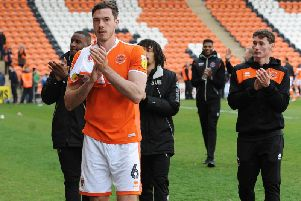 Heneghan has returned to Bloomfield Road for a second loan spell