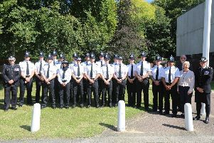 Nottinghamshire police have welcomed 18 new officers who have completed their training.