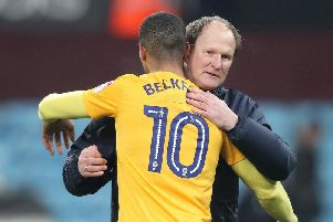 Beckford played under Grayson at three separate clubs