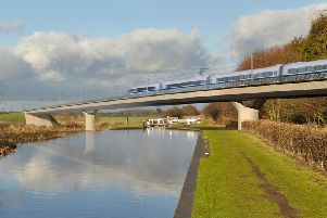 An image of how HS2 would look