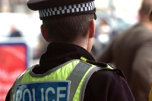Two 14-year-old boys have been arrested on suspicion of robbery following an incident where a mother of a 10-year-old boy was allegedly threatened at knifepoint in Harrogate.