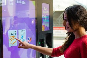 easy fare: Ticket vending machines have been rolled out.