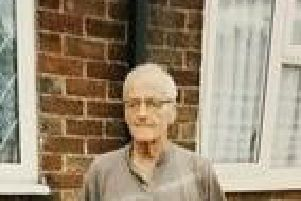 William Tinningley, known as Mick, was last seen around the Knottingley and Castleford area yesterday.