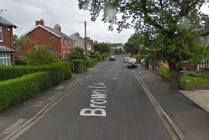 One of the boys was arrested in Brown Lane (Google Maps)